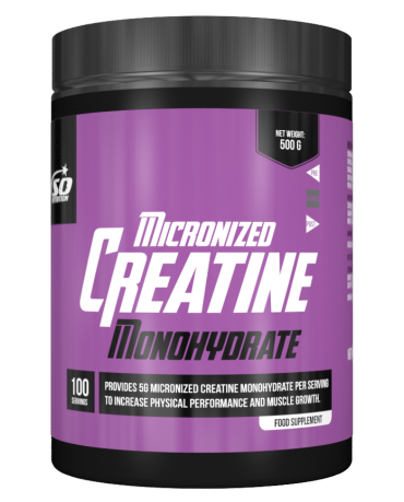 SO NUTRITION - Micronized Creatine Monohydrate 500g