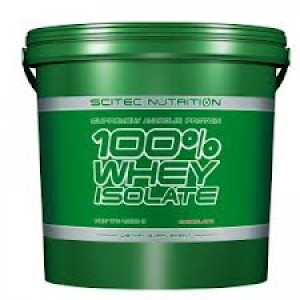 Scitec Nutrition - 100% Whey Protein Isolate 4000g + Free Gift!