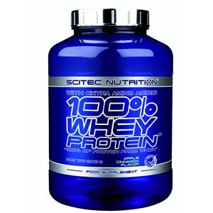 Scitec Nutrition - 100% Whey Protein 2350g + Free Shaker!