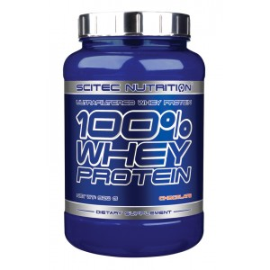 Scitec Nutrition - 100% Whey Protein 920g Unflavored!