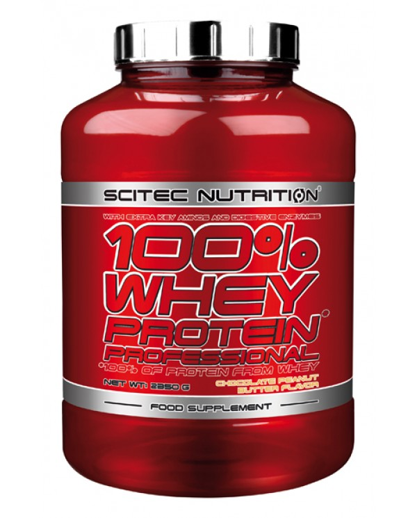 Scitec Nutrition - 100% Whey Protein Professional 2350g + FREE shaker!
