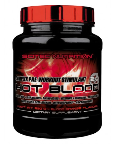 Scitec Nutrition - Hot Blood 3.0 820g