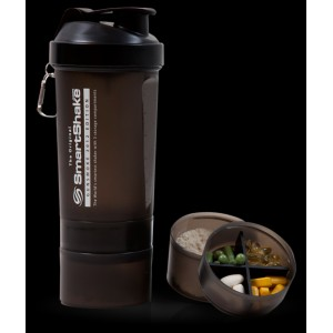 SmartShake XL - 800ml Gunsmoke