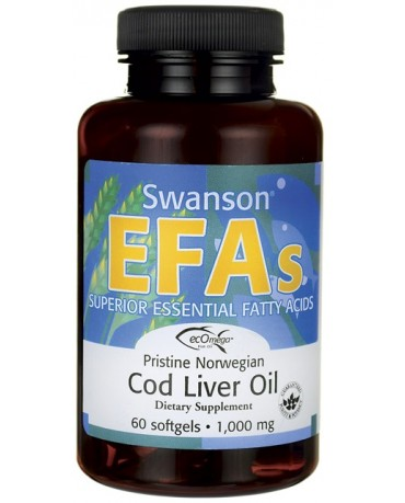 Swanson - Flaxseed oil * EFA`s 1000mg * 100softgels