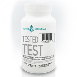 Tested - Test D-Aspartic Acid - 120caps