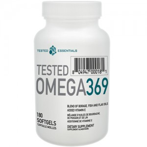Tested - Omega 3-6-9 - 180softgels