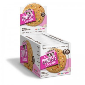 Lenny and Larry`s - Complete Cookie * Birthday Cake * Box of 12