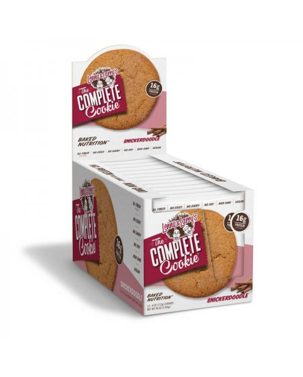 Lenny and Larry`s - Complete Cookie * Snickerdoodle * Box of 12