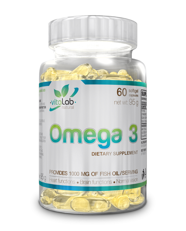 Vitalab - Omega3 * 60softgels