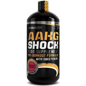 BioTech USA - AAKG Shock 1000ml - liquid pre-workout / pump