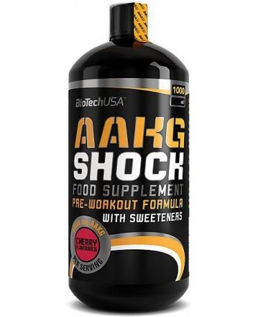 BioTech USA - AAKG Shock 1000ml - liquid pre-workout / pump
