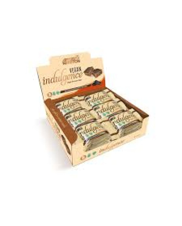 Applied Nutrition -  Vegan Indulgence Box 12 x 50g Belgian Dark Chocolate bar  and caramel