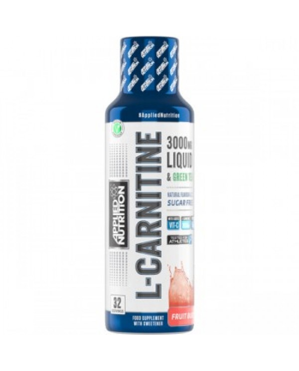 Applied Nutrition  - L-Carnitine Liquid 3000 with Green Tea 480ml | 32 Servings