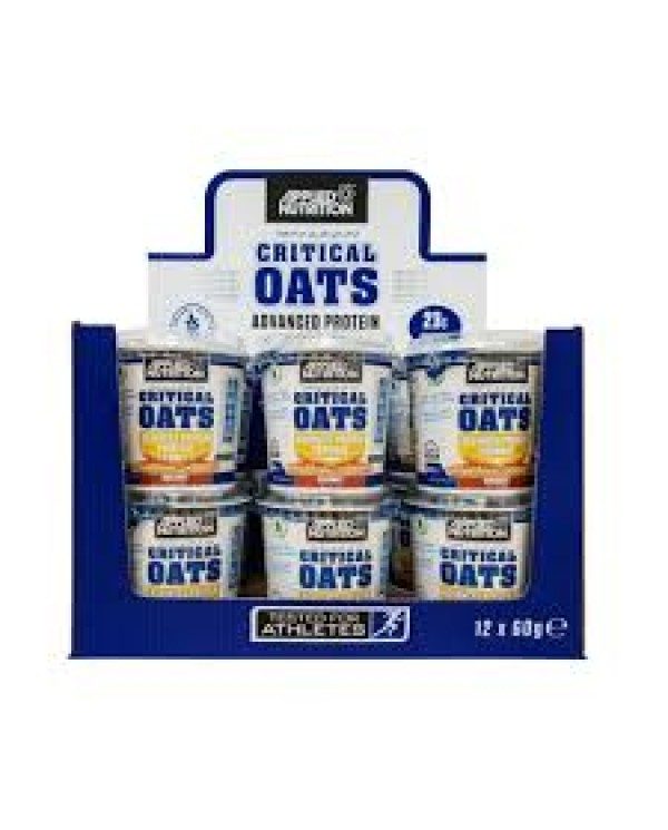 Applied Nutrition - Critical Oats Case x 12 x 60g - Chocolate