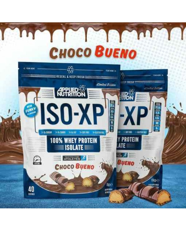 Applied Nutrition - ISO-XP 1kg *Kinder Bueno flavor
