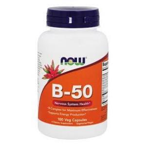 Now Foods - B-50 100 veg capsules