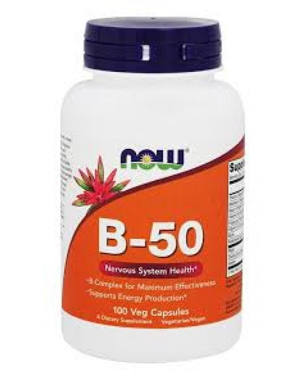 Now Foods - B-50 100 veg capsules
