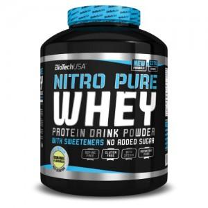 Biotech USA - Nitro Pure Whey 2270g + free shaker!