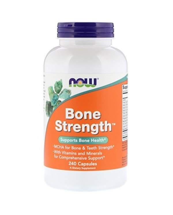 Now Foods - Bone Strenght 120 Capsules