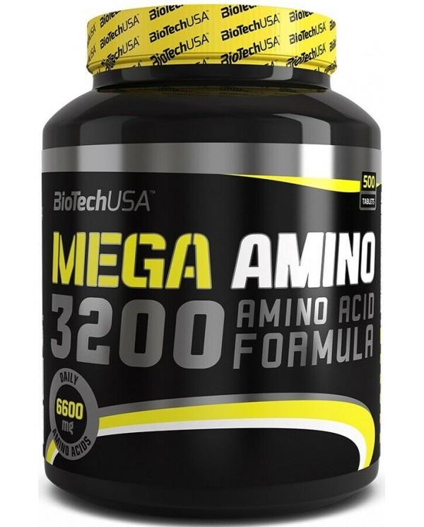 BioTech USA - Mega Amino 3200 - 500tabs