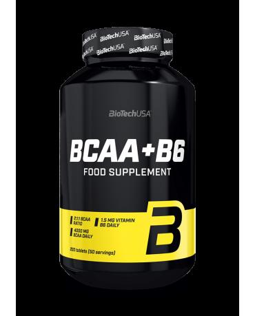 BioTech USA - BCAA + B6  - 200tablets