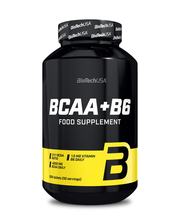 BioTech USA - BCAA + B6  - 200tablets