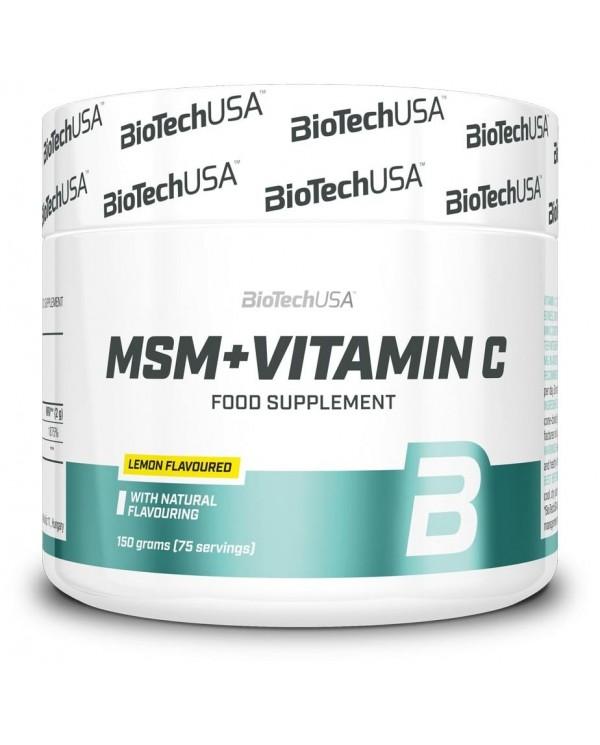 BioTech USA - MSM+Vitamin C 150g