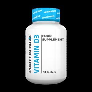 Protein Buzz - Vitamin D3 * 90tab