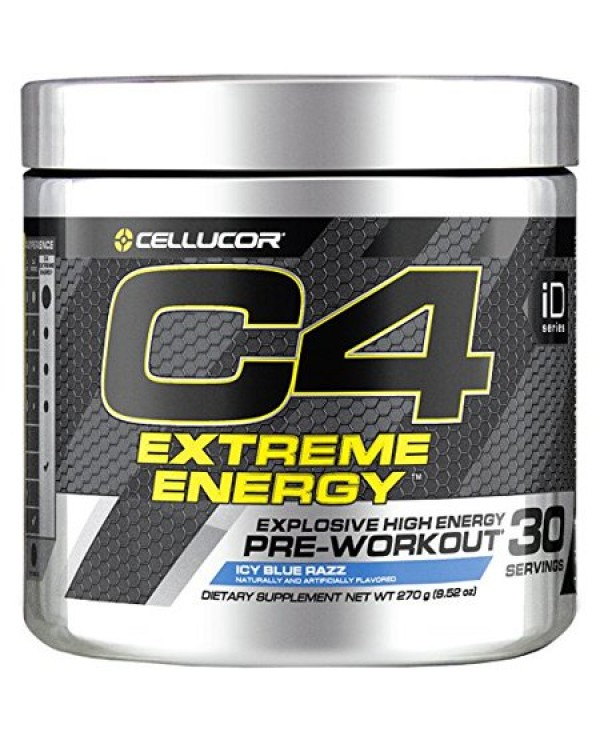 Cellucor - C4 EXTREME ENERGY Pre Workout 30 servings - 300g
