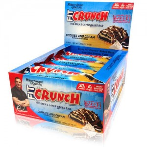 FortiFx Chef Robert Irvine - Fit Crunch bars 12*88g