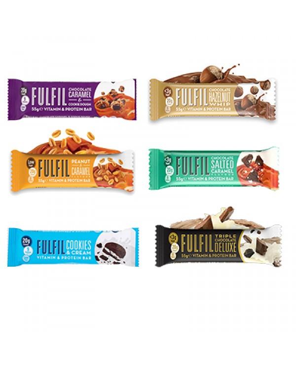 Fulfil - Protein bars with vitamins 60g bar