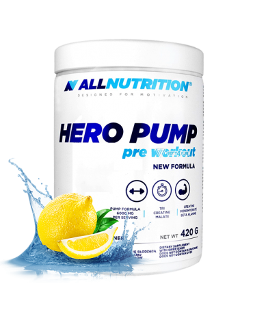 All Nutrition - Hero Pump 420g * 30servings * stim free pwo