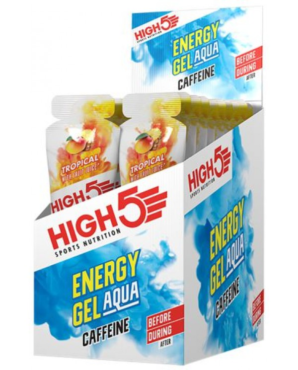 High5 - AQUA Gel  Caffeine - Box of 20 * 66g