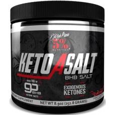 5% Nutrition KetoaSALT with goBHB Salts 252.8g