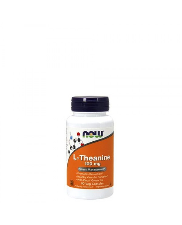 Now Foods - L-Theanine 100 mg (90 Veg Capsules)