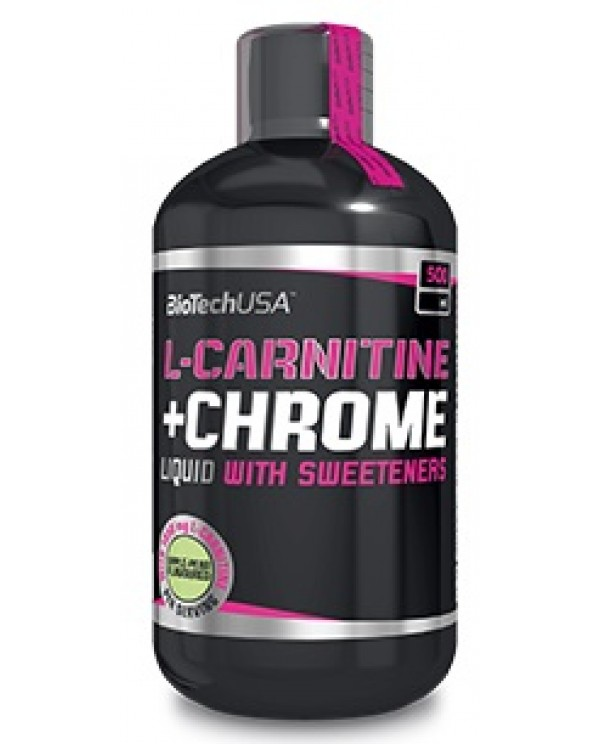 BioTech USA - L-Carnitine + Chrome liquid 500ml