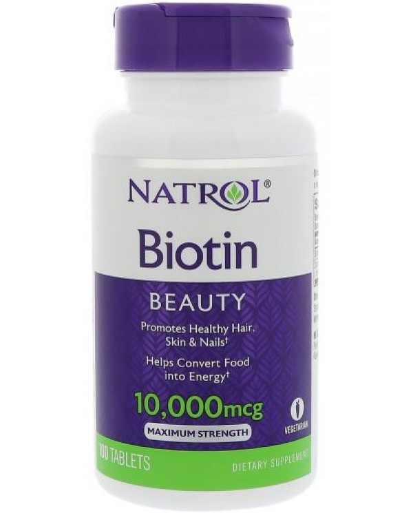 Natrol - Biotin 10000 mcg 100 Tablets