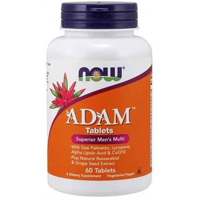 Now foods - ADAM * men`s multi * 60 tablet
