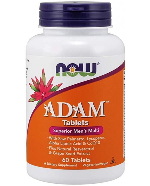 Now foods - ADAM * men`s multi * 60 tablet
