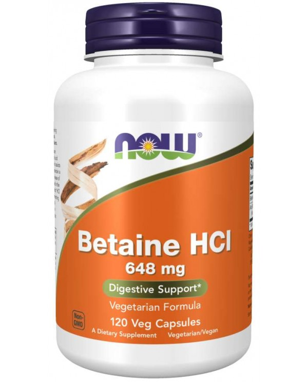 Now foods - Betaine HCL (120 veg capules)