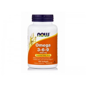 Now Foods - Omega 3-6-9 *1000mg* 100softgel