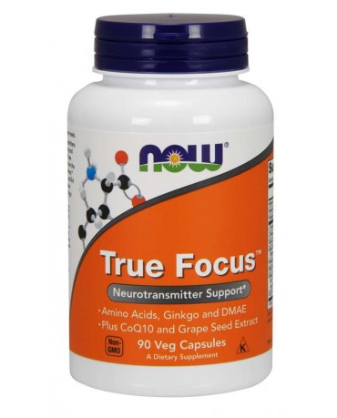Now Foods - True Focus (90 Veg capsules)