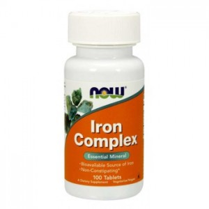 Now Foods - Iron Complex 100tablets