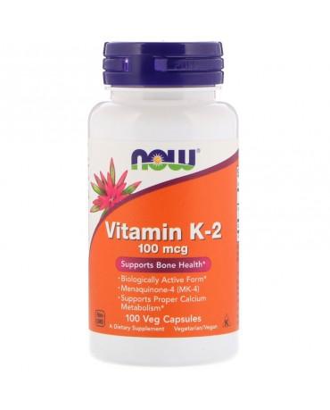 Now Foods - Vitamin K2 - 100caps
