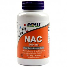 Now Foods - NAC 600mg - 100 Veg Caps