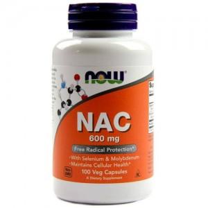 Now Foods - NAC 600mg - 100 Veg Caps