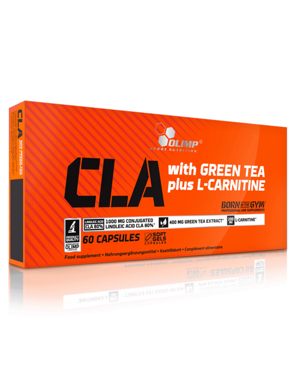 Olimp - CLA & Green Tea + L-Carnitine 60caps