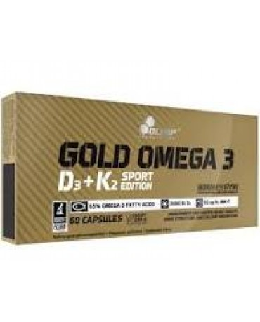 OLIMP - Gold Omega 3 D3 + K2 Sport Edition 60 caps