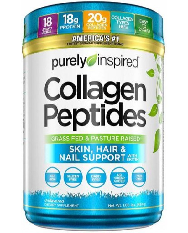 Purely Inspired - Collagen Peptides  454g Unflavored