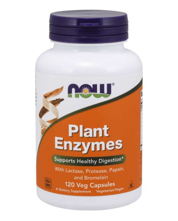 Now Foods - Plant enzymes 120 veg capsules